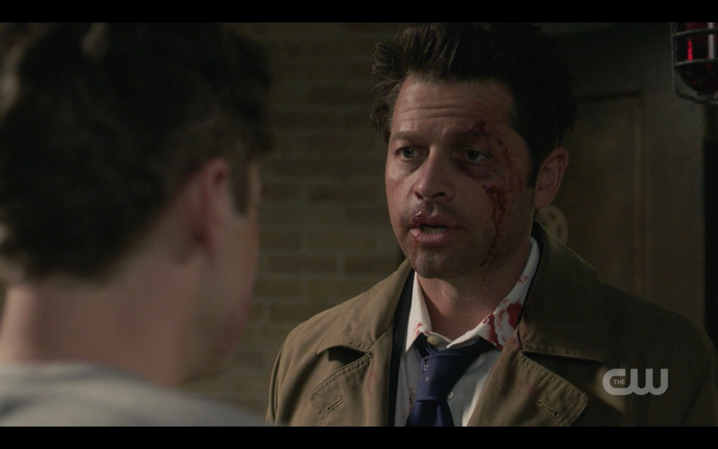 castiel telling supernatual jack hes got a family with winchesters