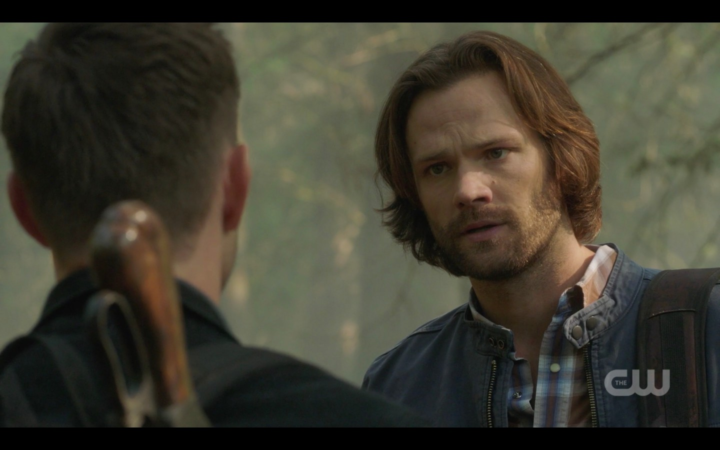 dean angry frustrated takes out on sam winchester 1403