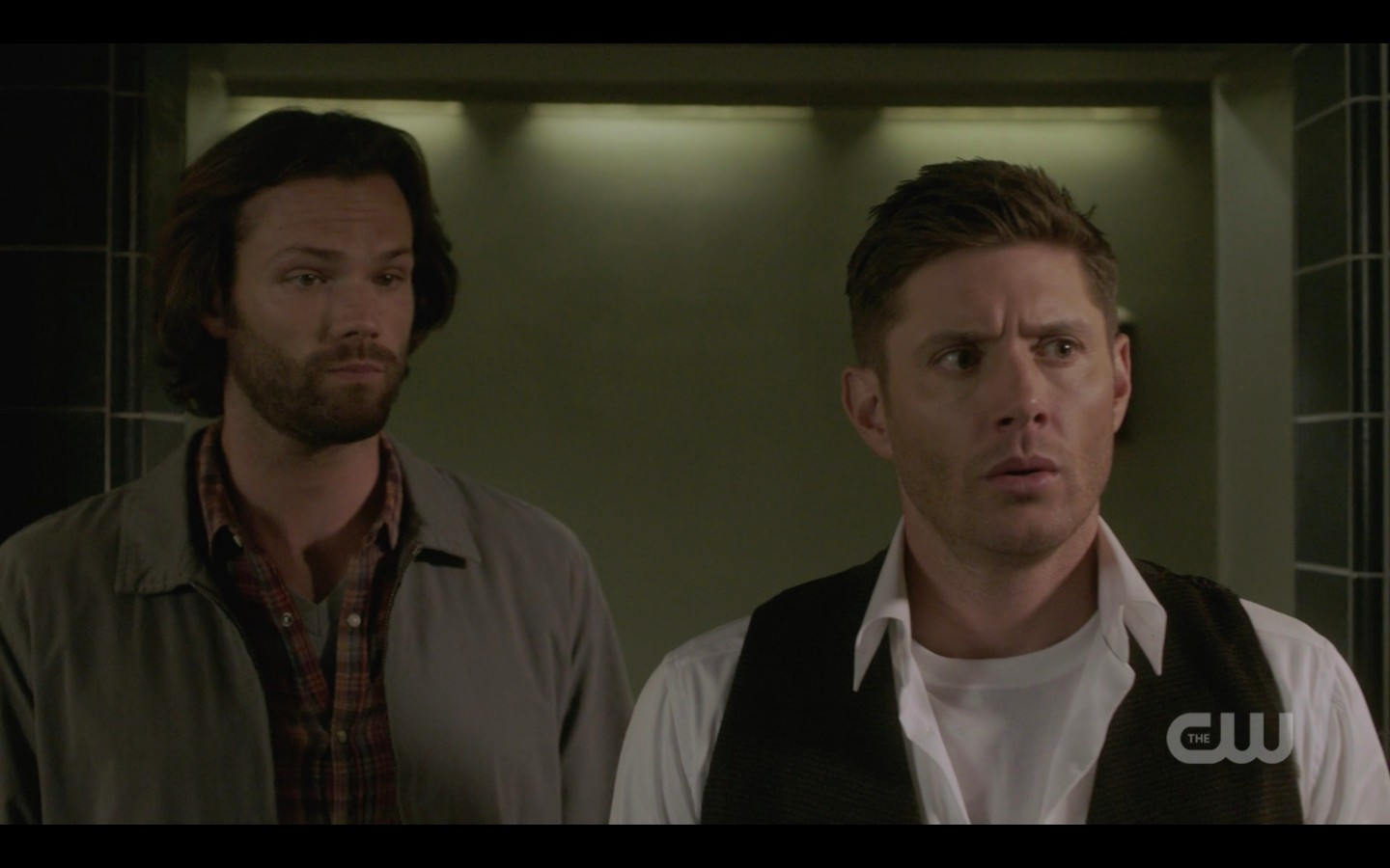 dean winchester sees bunker for first time spn 1403