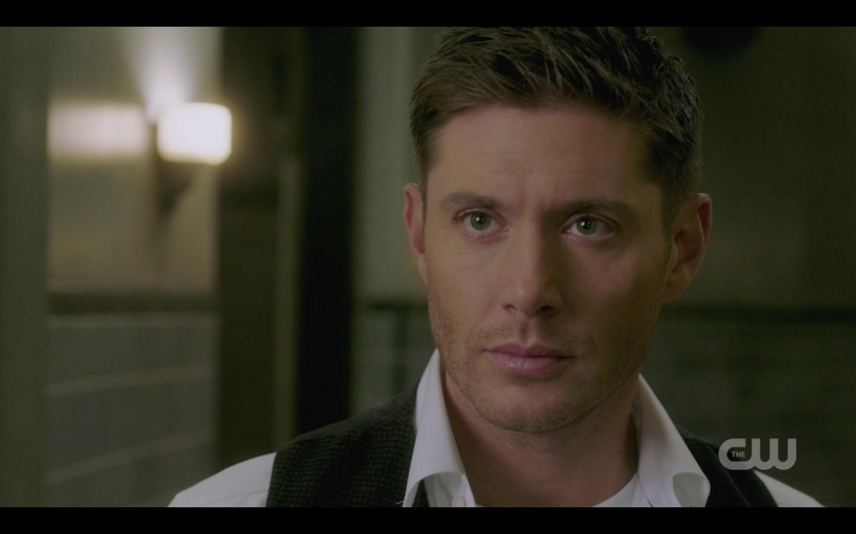 dean with sam again supernatural the scar