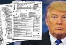 donald trump tax problems hit 2018