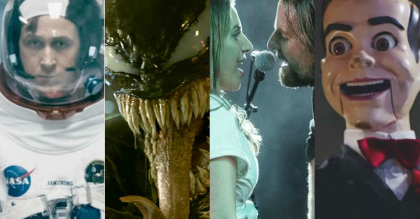 first man venom a star is born goose bumps 2 box office numbers