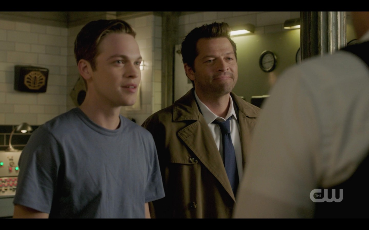 jack castiel happy to see dean winchester spn scar