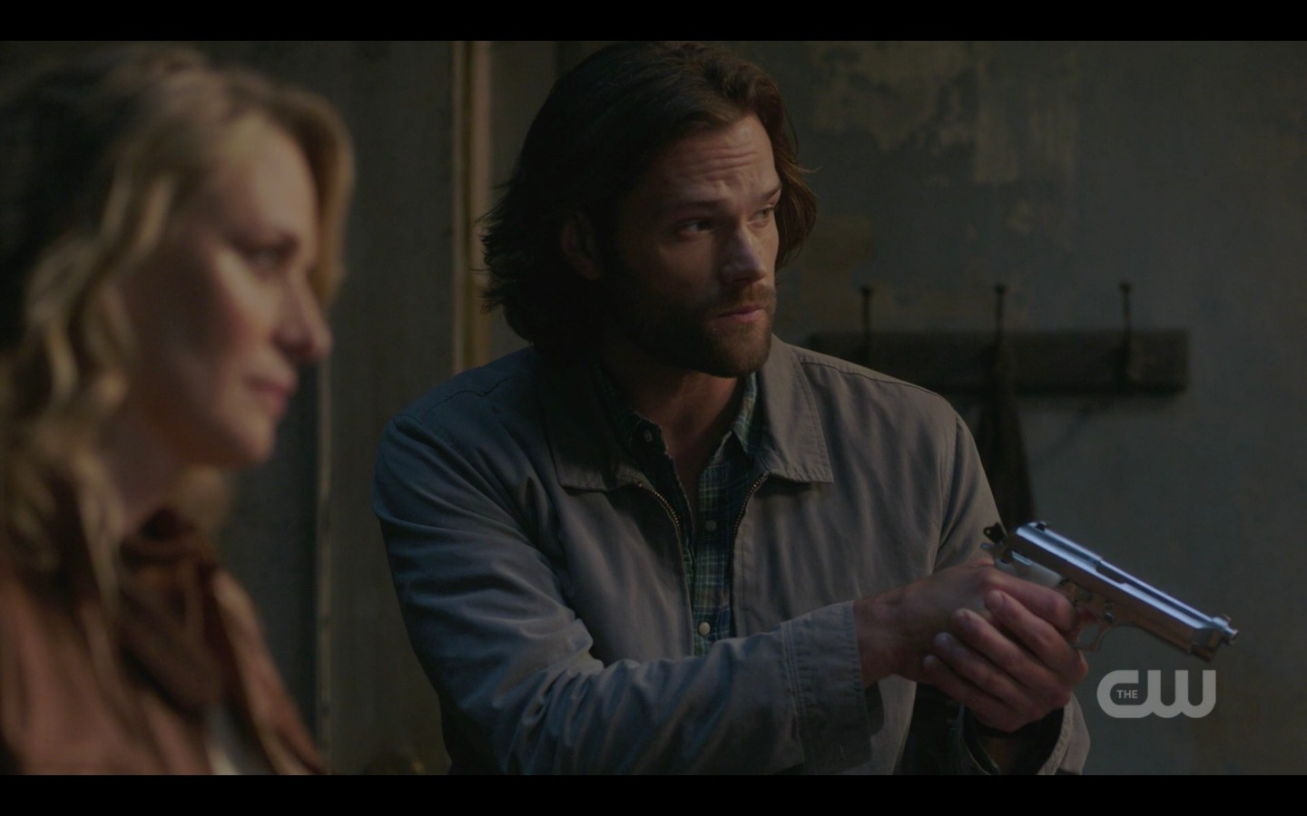 sam mary winchester hunt for lucifer with gun