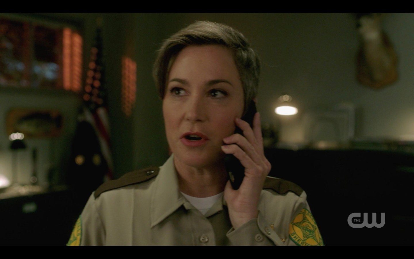supernatural jody hears dean winchester on phone relief 1403