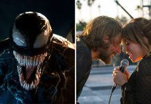 venom a star is born fight at box office