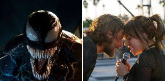 venom a star is born fight at box office