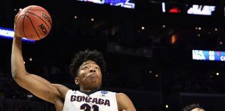 2018 2019 college basketball gonzaga