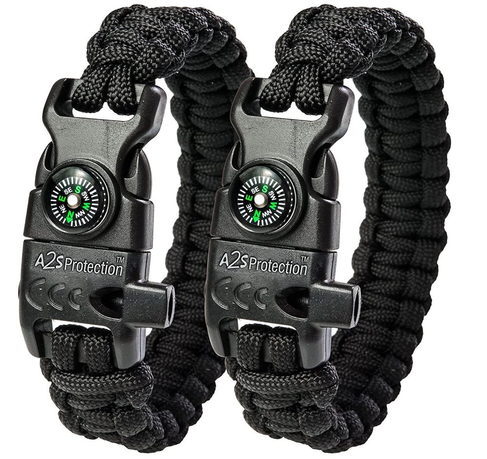A2S Paracord Bracelet K2-Peak 2018 best holiday kids gifts