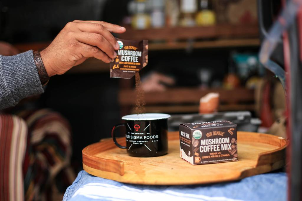 Four Sigmatic Mushroom Coffee with Lion's Mane & Chaga hottest fitness gift ideas