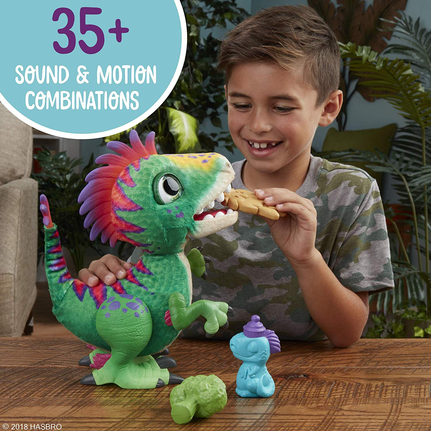 FurReal Muchin' Rex 2018 hot holiday kids toys