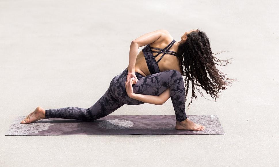 Gaiam Print Premium Yoga Mats hottest fitness gift guides mttg