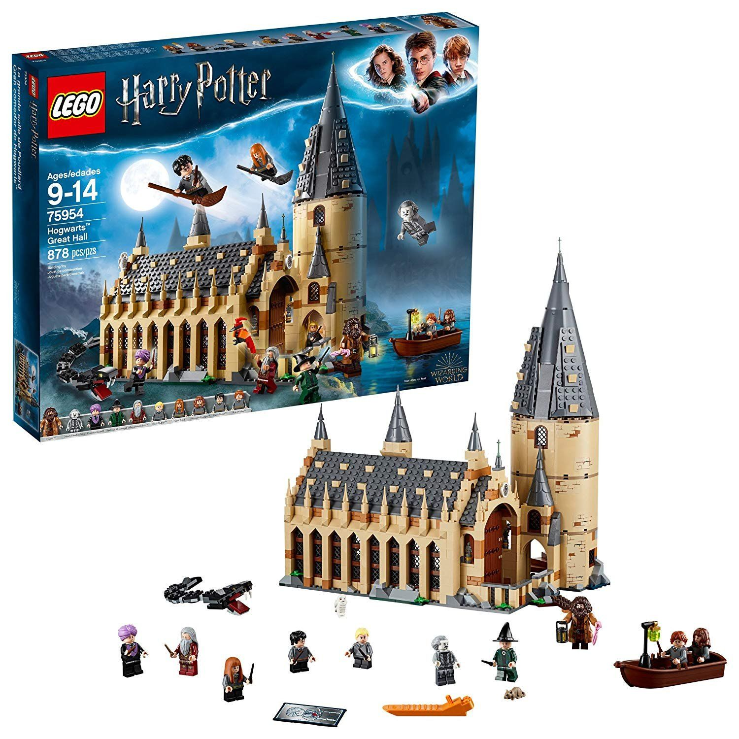 Harry Potter Hogwarts Great Hall Building Kit 2018 hot holiday kids toys