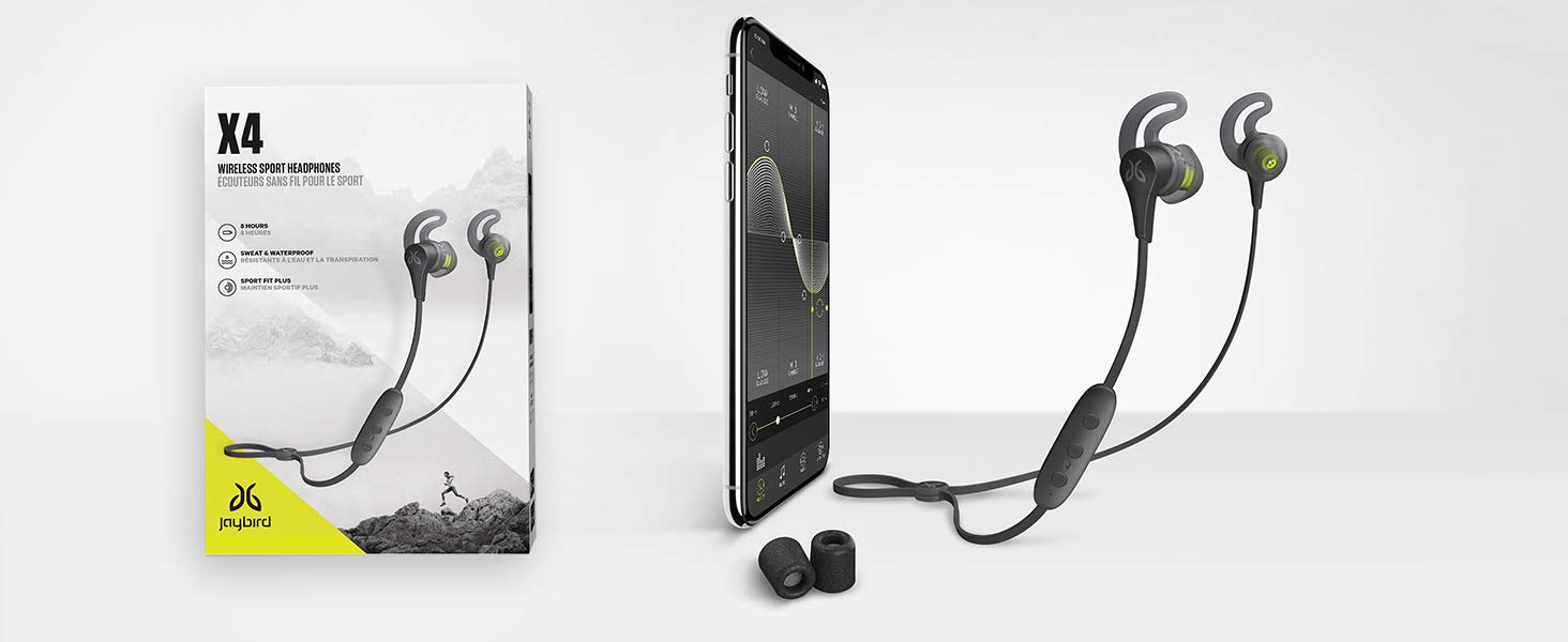 Jaybird X4 wireless headphones hottest holiday fitness gifts