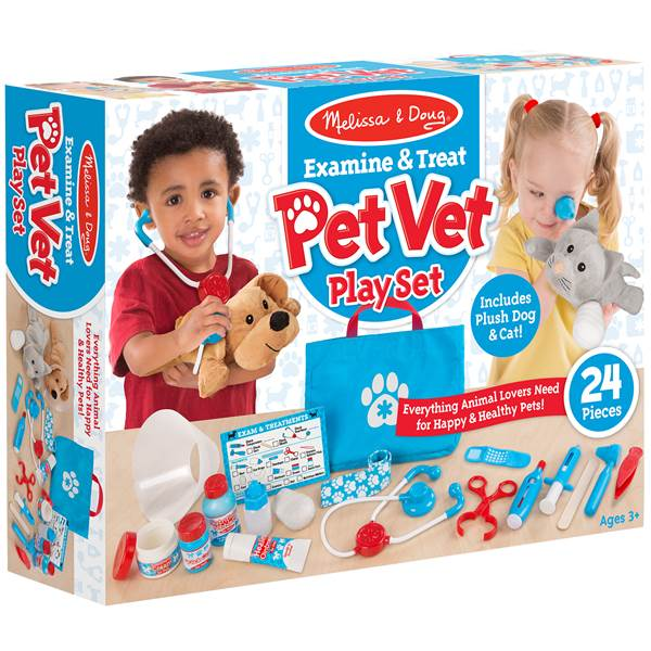 Pet Vet Playset 2018 hot holiday kids toys gifts
