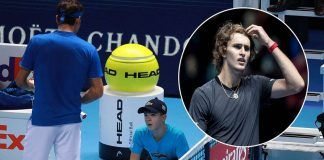 ball boy atp finals drops ball hurting roger federer