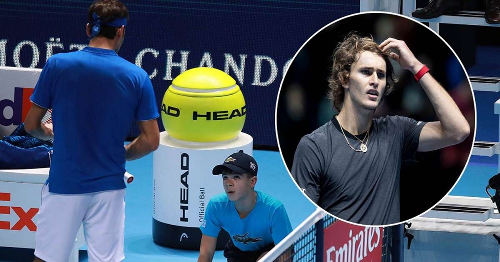 Federer falls short as Zverev goes on to face Djokovic