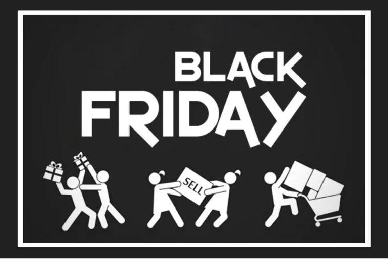 black friday fights for bargains 2018