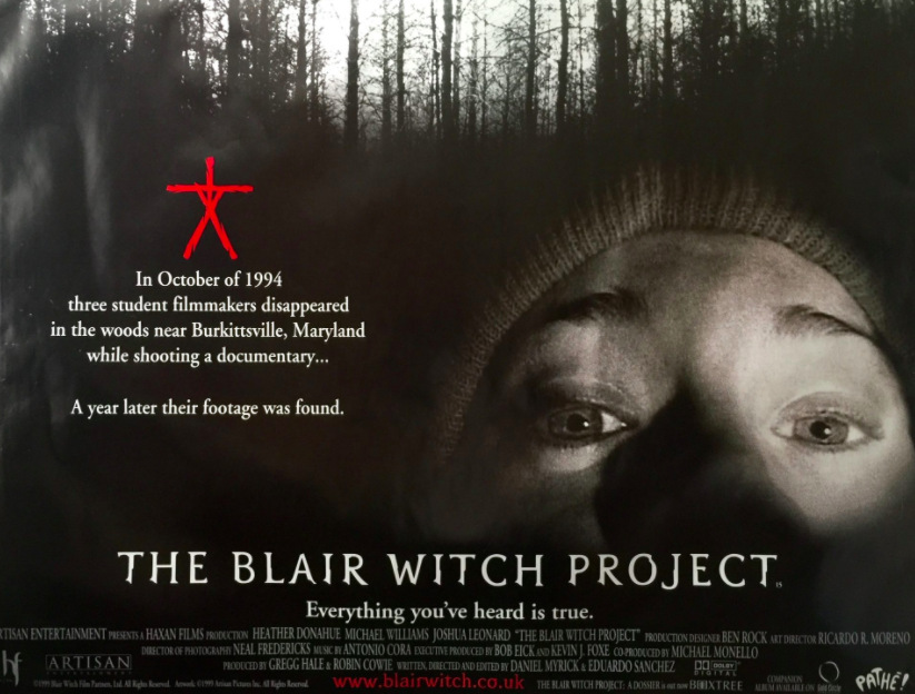 blair witch project one sheet mttg eduardo sanchez