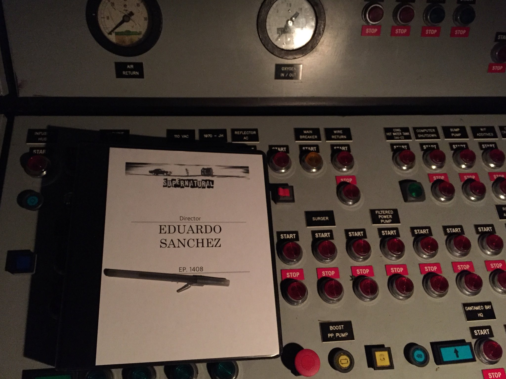 eduardo sanchez supernatural episode directing