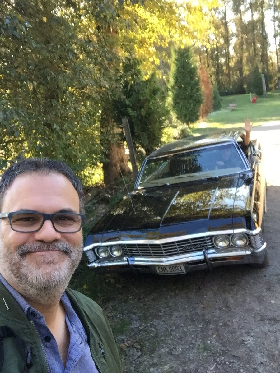 eduardo sanchez with supernatural baby impala mttg interview