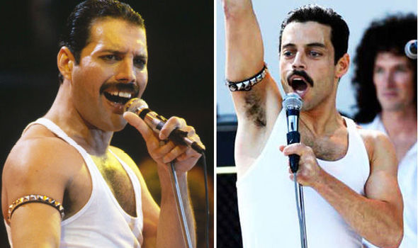 freddy mercury vs rami malek