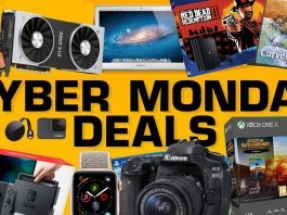 hot ps4 xbox vr switch cyber monday gaming deals 2018