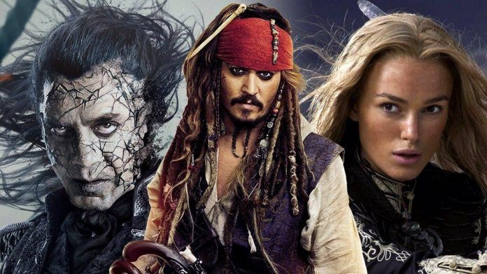johnny depp keira knightly pirates of the caribbean 6 reboot