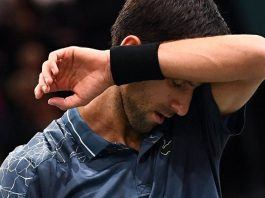 novak djokovic loses to karen khachanov paris masters