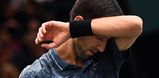 novak djokovic loses to karen khachanov paris masters