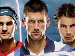 novak djokovic rafael nadal roger federer take top spot final atp rankings images 2018