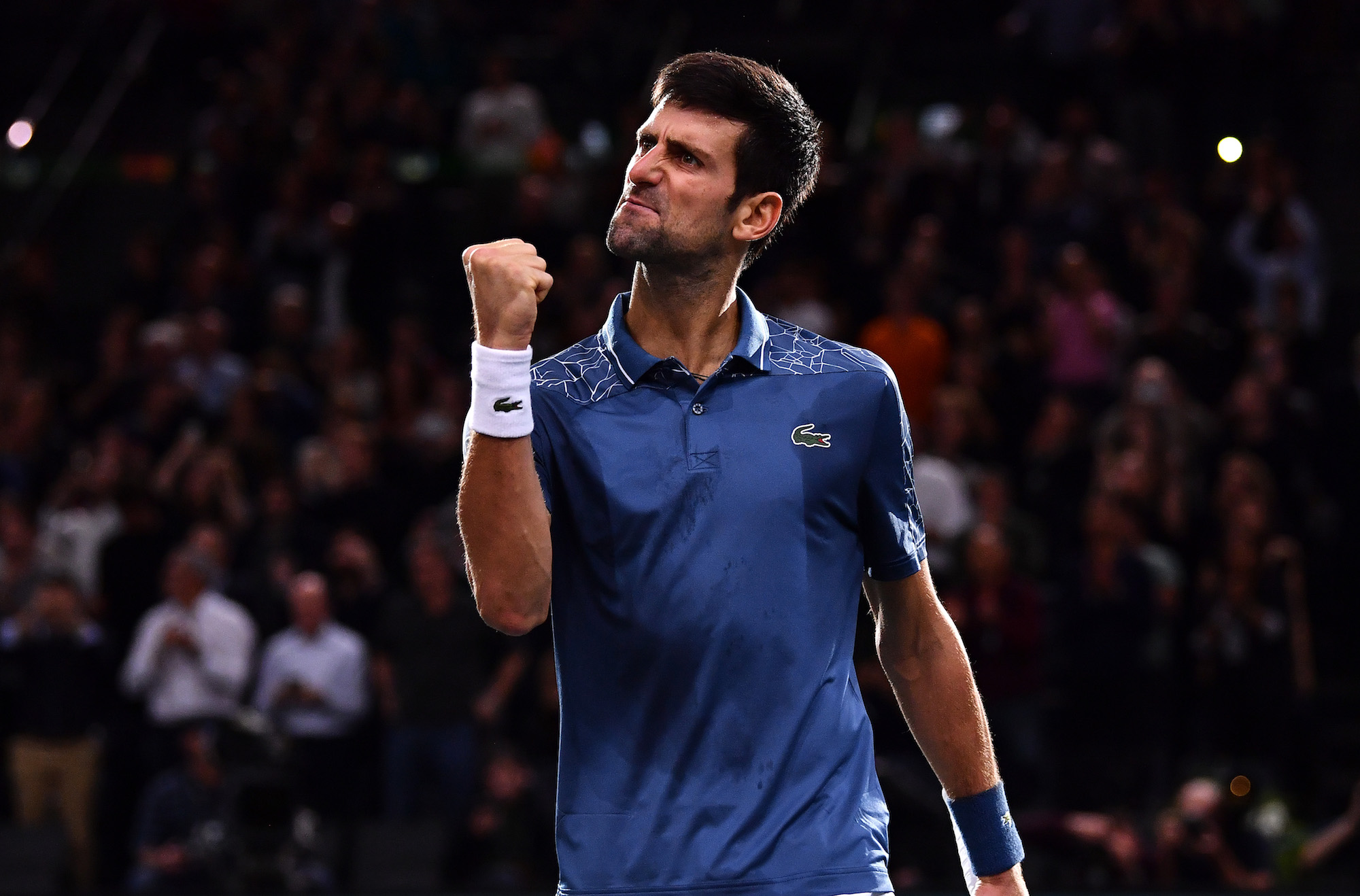 novak djokovic wins epic battle vs roger federer at paris masters 2018