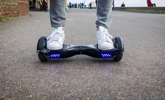 royal blue hoverboard tech gifts cyber monday