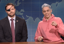 snl pete davidson with navy seal dan crenshaw