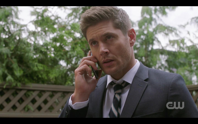 supernatural dean winchester listens to jack talk sex 1406