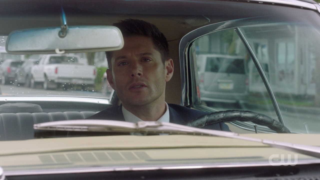 supernatural dean winchester reacts to jack low blow