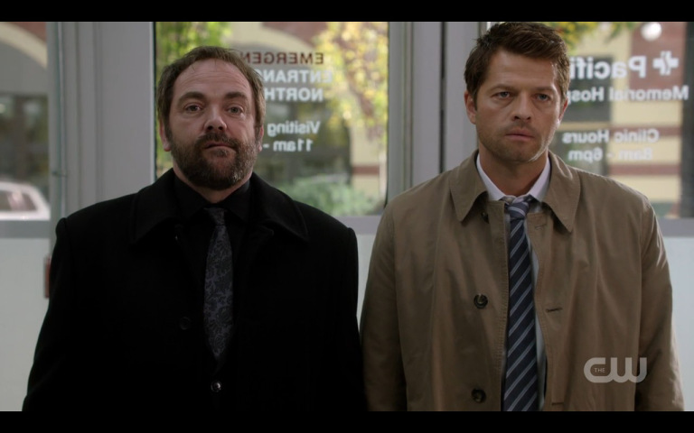 supernatural rock on mark with misha collins
