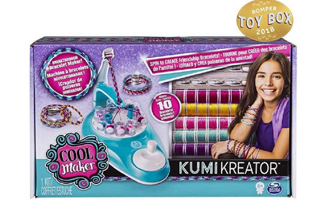 Cool Maker Bracelet Maker kumikreator box for young girls gifts