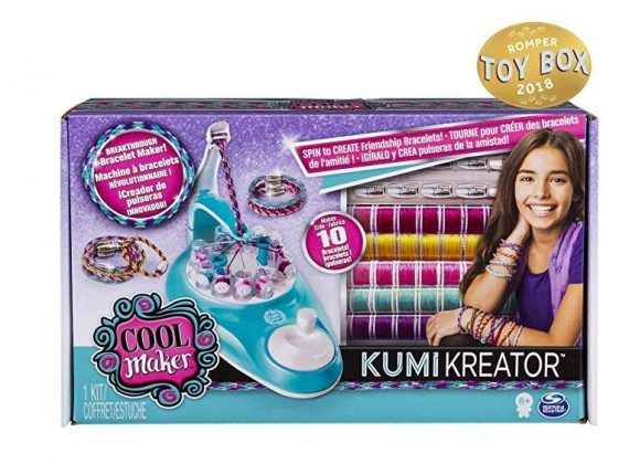 Cool Maker Bracelet Maker kumikreator box for young girls gifts