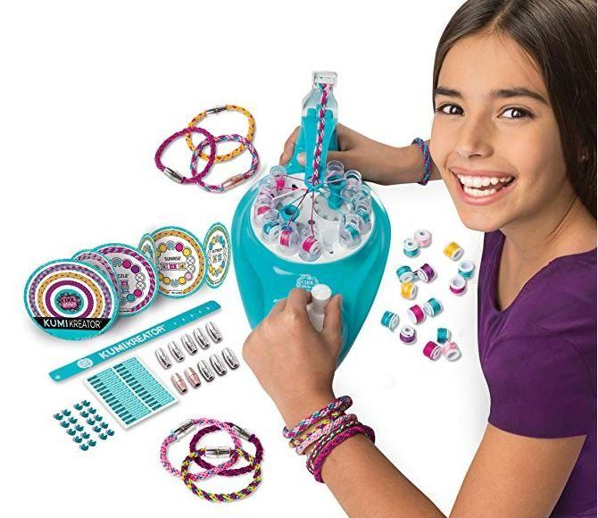 Cool Maker Bracelet Maker young girl making jewelry