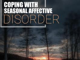 Coping With Seasonal Affective Disorder sun peeking over horizon image