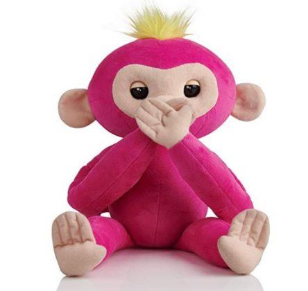 Fingerlings Hugs Bella lush baby monkey pet wowwee for young girls gifts
