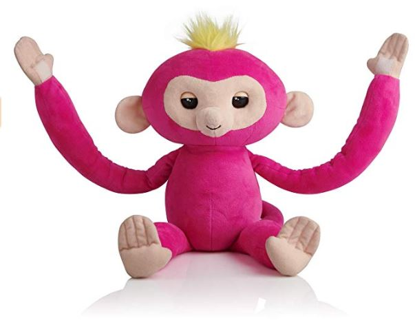 Fingerlings Hugs plush monkey toy arms open hot gifts girls