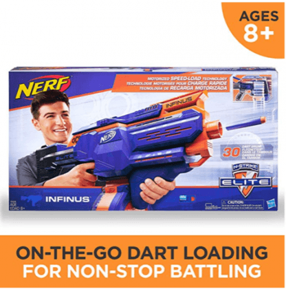 Infinus Nerf N-Strike Elite Toy Motorized Blaster with Speed-Load Technology hot boy toys