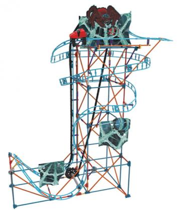 K'NEX Thrill Rides – Cobweb Curse Roller Coaster Building Set boy toys full set