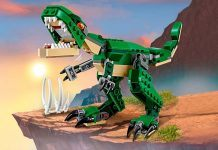 LEGO Creator Mighty Dinosaurs 31058 Dinosaur Toy hottest toys for boys 2018