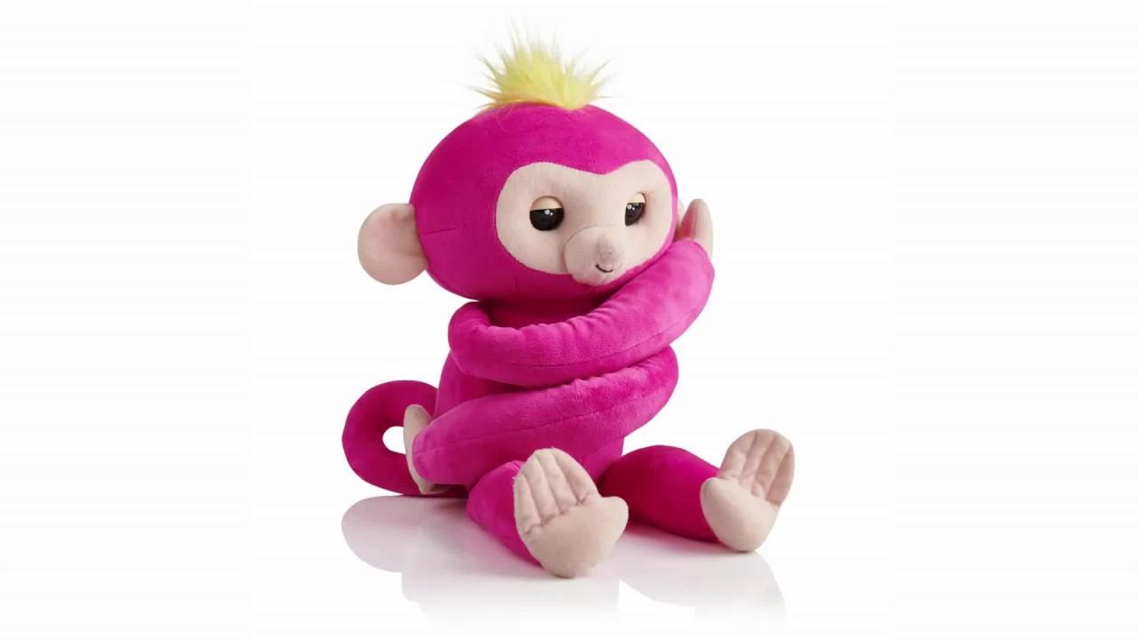 WowWee Fingerlings HUGS - Bella Baby Monkey hot toys 2019