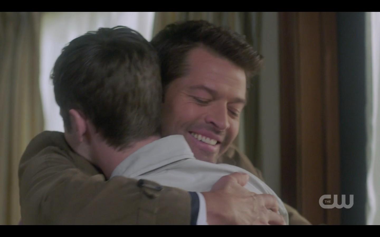 castiel hugging jack spn 1408 i sorry i failed you