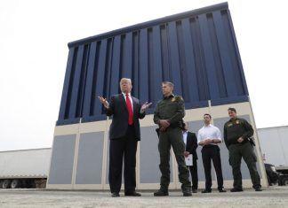 donald trump border wall fiction check 2018