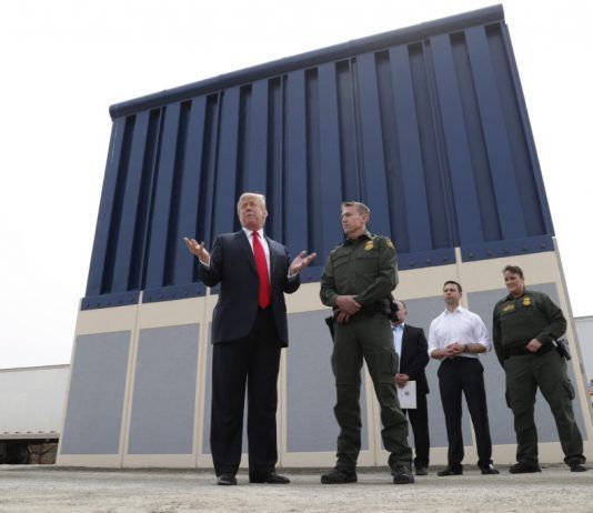 donald trump border wall fiction check 2018